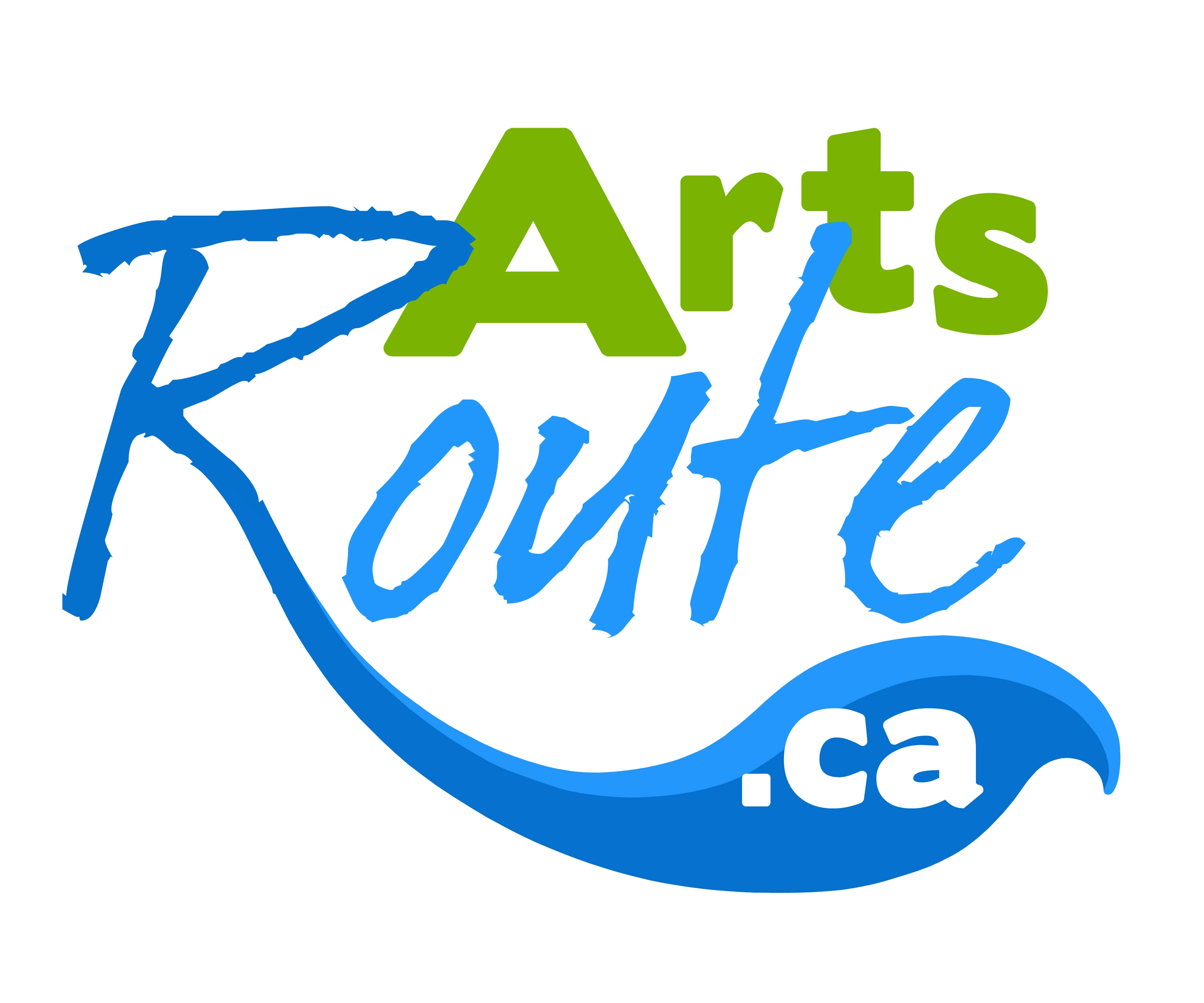 logo for artsroute.ca, a Hastings County website