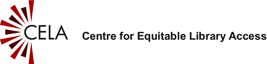CELA - Centre for Equitable Library Access