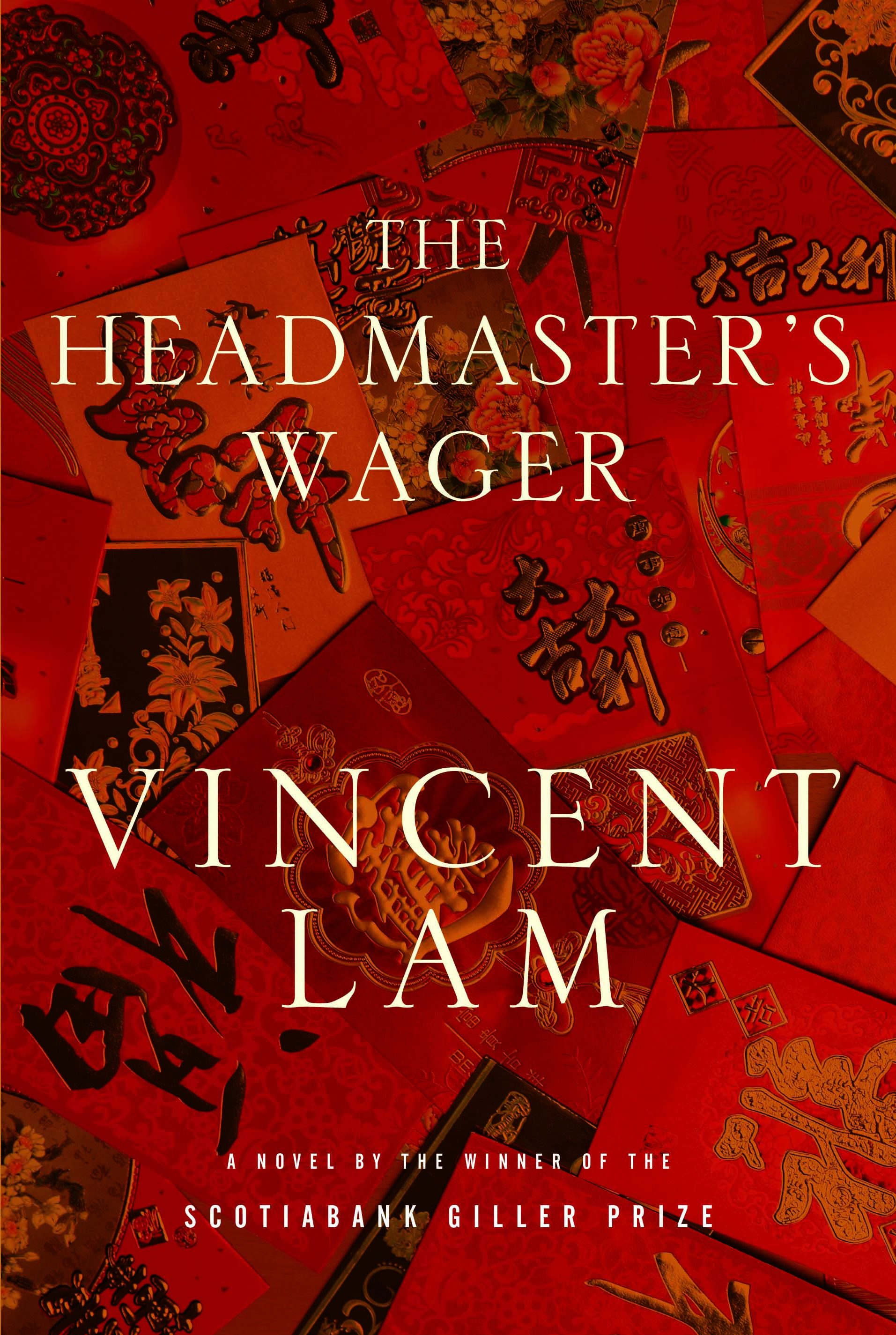 Book title: The Headmasters Wager by Vincent Lam