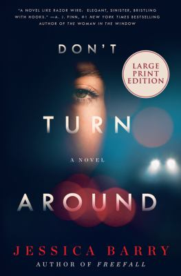 Book title: Don't Turn Around by Jessica Barry