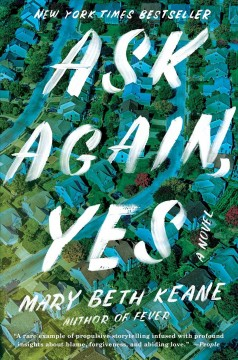 Book title  Ask Again Yes by Mary Beth Keane