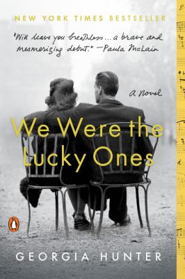 Book title  We Were the lucky Ones by Georgia Hunter.