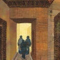 """Entering the Souk"", fibre work by Phillida Hargreaves"