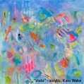 "July/August Gallery 2 ""My Colourful Friends"" Kato Wade