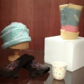 Felted wear & ceramic tumbler
